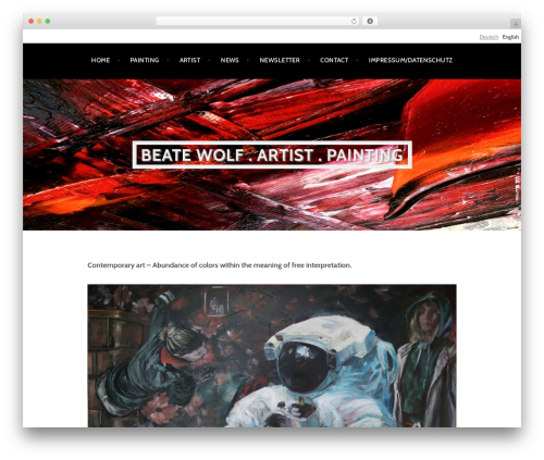 Argent free website theme - beatewolf.com