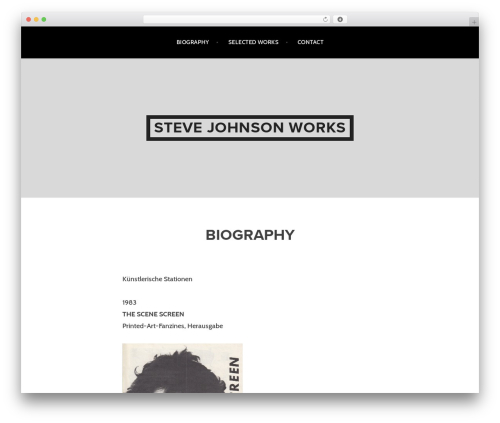 Argent WordPress theme free download - johnsons.work