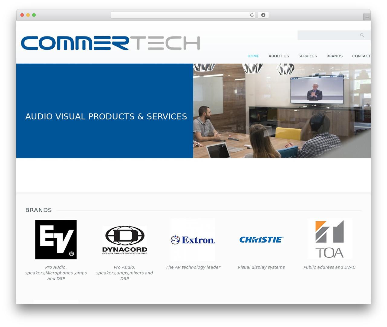 Klasik best WordPress theme - commertech-me.com