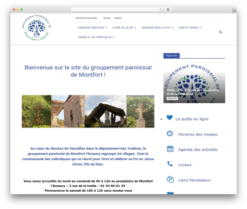 Newspaper WordPress news theme - montfort-catholique-yvelines.fr
