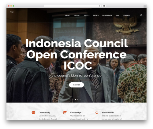 Uncode best WordPress template - indonesiacouncil.com