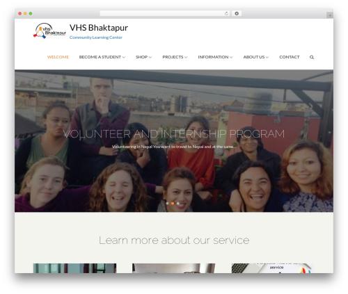 WP template Pet Business - vhsbhaktapur.org