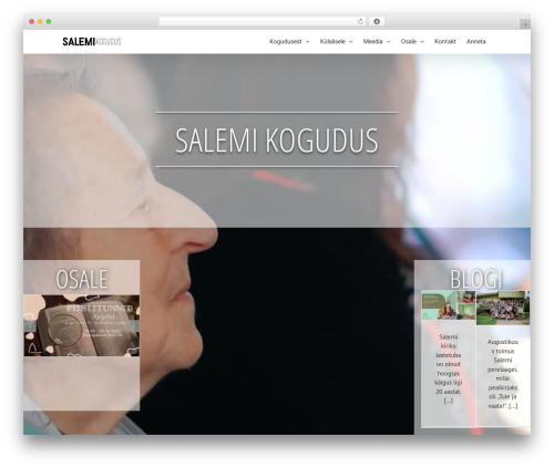 Avada best WordPress theme - salem.ee