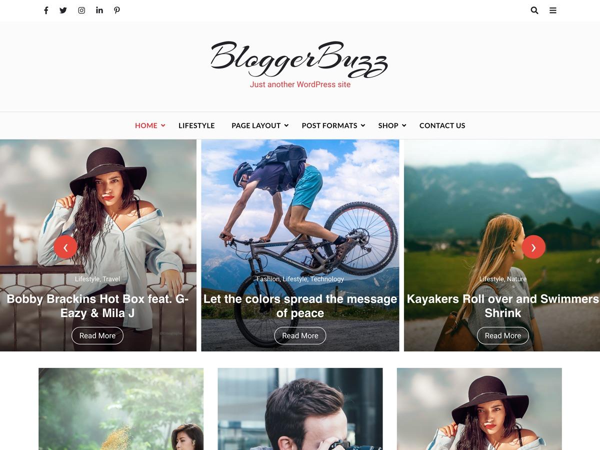 Blogger Buzz WordPress wedding theme