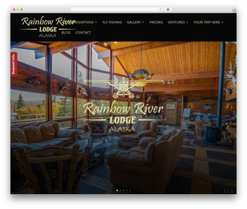 Divi WordPress theme - rainbowriverlodge.com