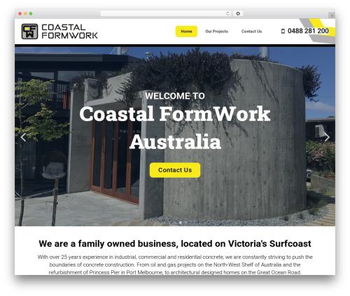 GeneratePress theme WordPress free - coastalformwork.com