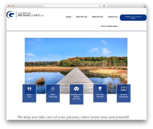 GeneratePress WordPress template free - guylawllc.com