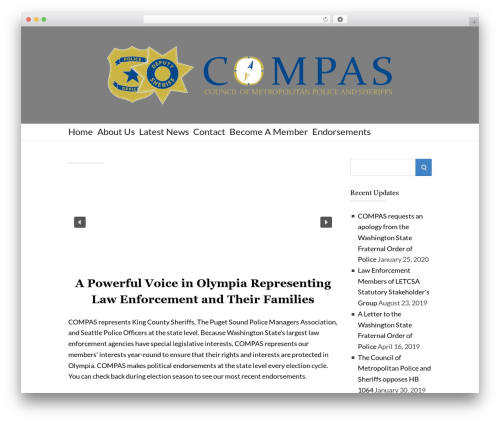 Theme WordPress Socrates v5 - compas-wa.org
