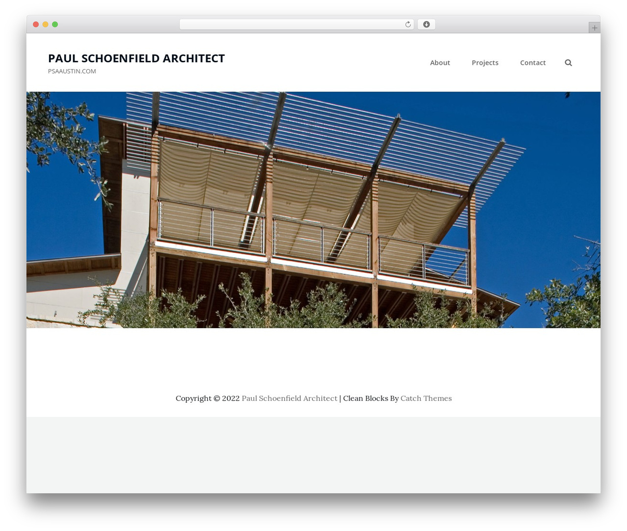 WordPress template Clean Blocks - psaaustin.com