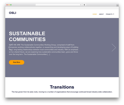 WordPress theme Construc - osli.ca