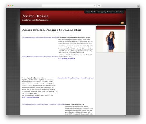 Affiliate Internet Marketing theme WordPress theme - xscapedresses.org
