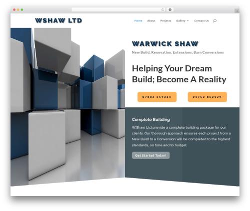 Client Theme WordPress theme - wshawltd.co.uk