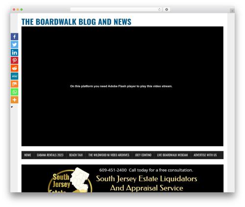 MH Newsdesk lite WordPress template free download - watchthetramcarplease.com