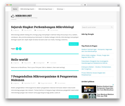 Template WordPress ktz freak - mikrobio.net