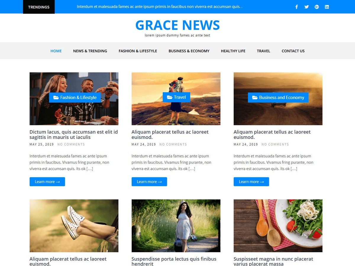 Grace Themes WordPress Themes