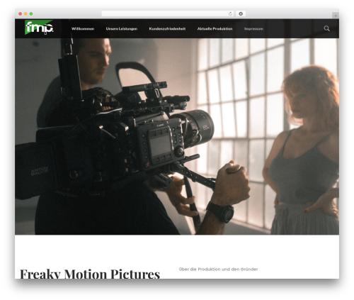 WordPress theme filmic - fmp-studios.de