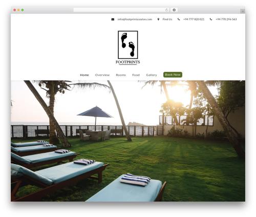 NiceInn WordPress theme - footprintsceylon.com