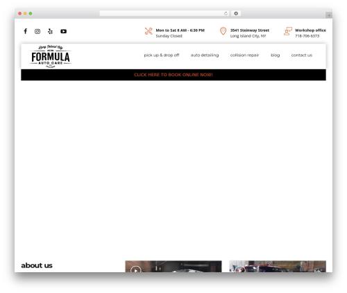 Free WordPress WP Yelp Review Slider plugin - formulaautocare.com