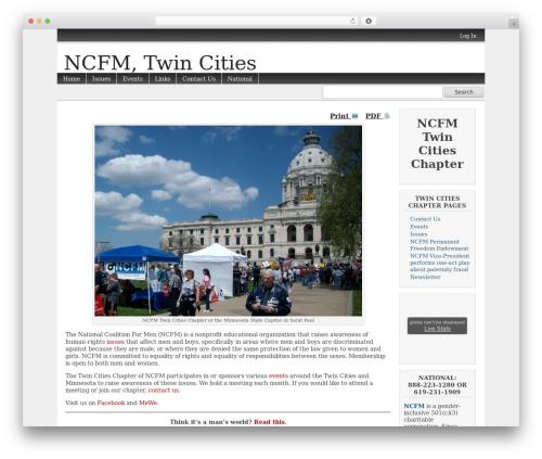 NCFM Magazine WordPress theme - tc.ncfm.org