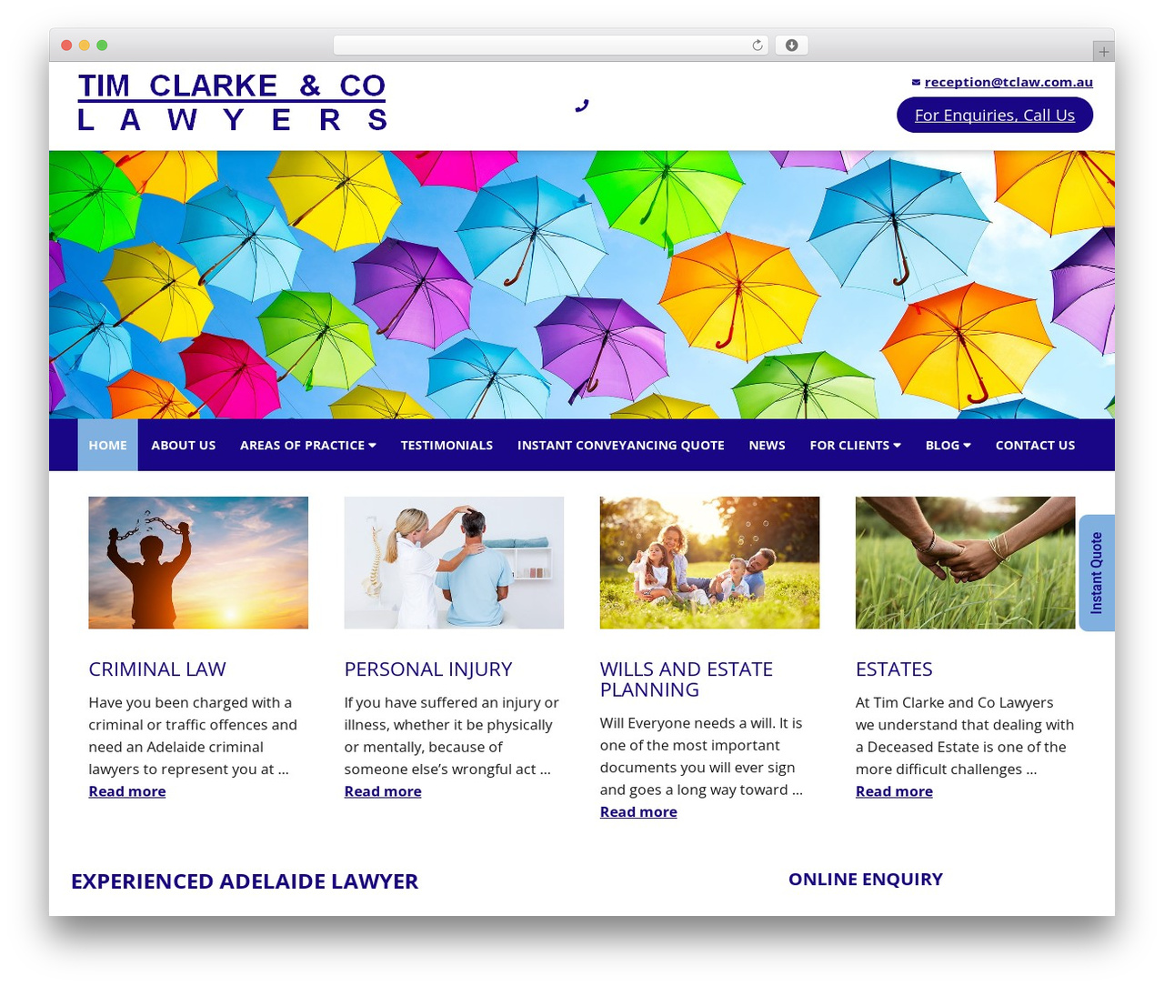 WP theme Minimum Pro Child 001 - tclaw.com.au