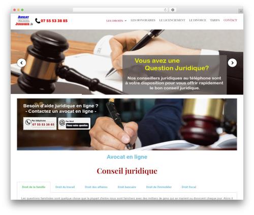 Neve WordPress theme - avocatconseiljuridique.fr