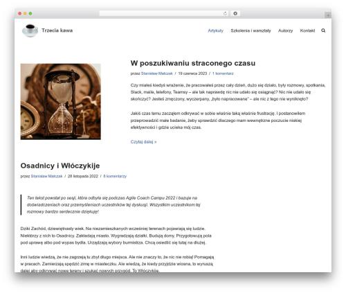 neve WordPress theme - trzeciakawa.pl