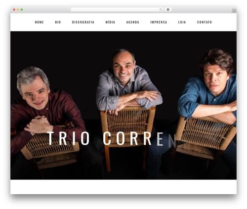 Theme WordPress Bridge - triocorrente.com