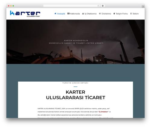 WordPress template neve - karter.com.tr