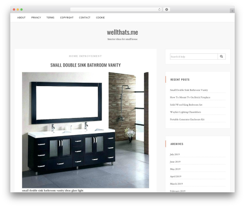 Sanremo WordPress template free download - wellthats.me