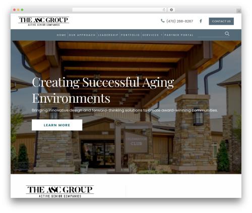 Best WordPress template Revolution - theascgroup.com
