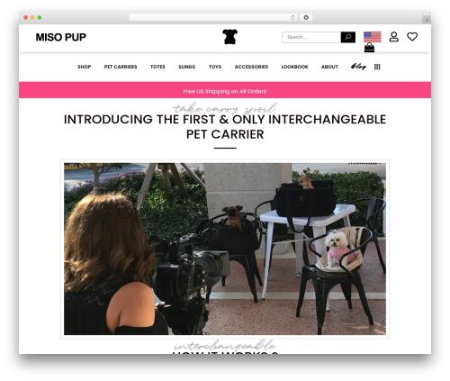 Best WordPress theme Bazaar - misopup.com