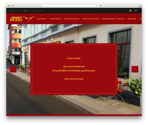 Deep WordPress template - anno-tubac.de