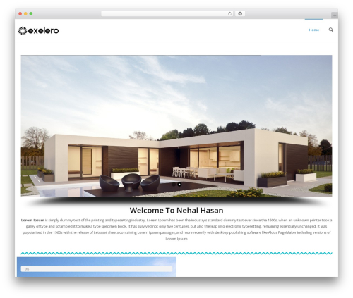 Exelero - Responsive Multi-purpose WordPress Theme WordPress hotel theme - hotelsincoxsbazar.com