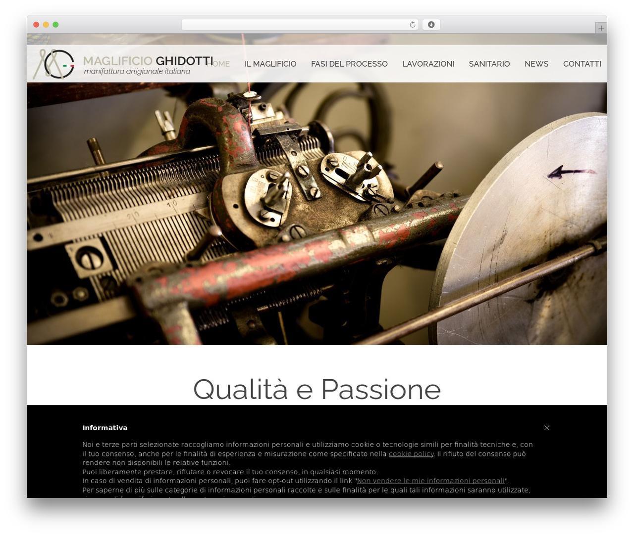 Farmworld WP theme - maglificioghidotti.com