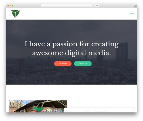 neve best WordPress theme - mythighus.com