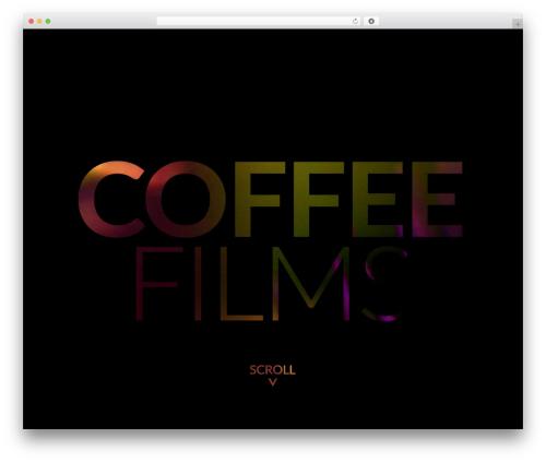 neve WordPress theme - coffeefilms.com