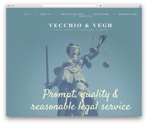 WordPress theme cherry - vecchio-vegh.com