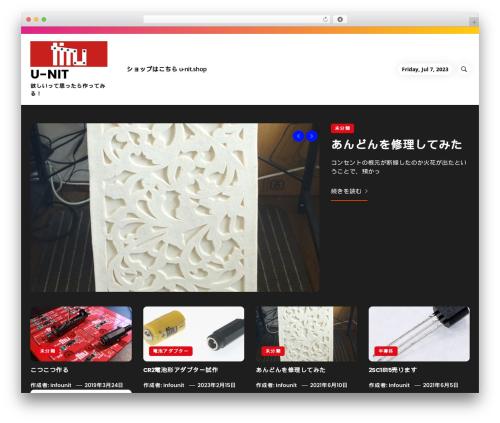 Insights WordPress template - u-nit.net