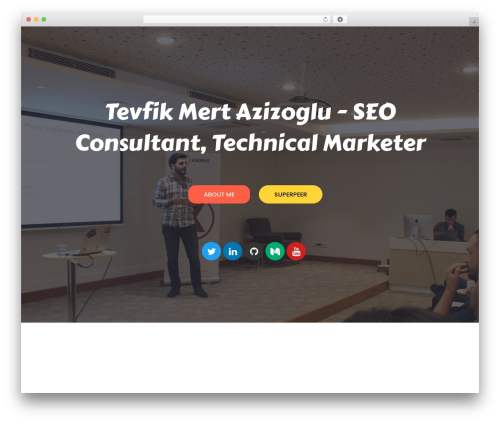 Theme WordPress neve - mertazizoglu.com