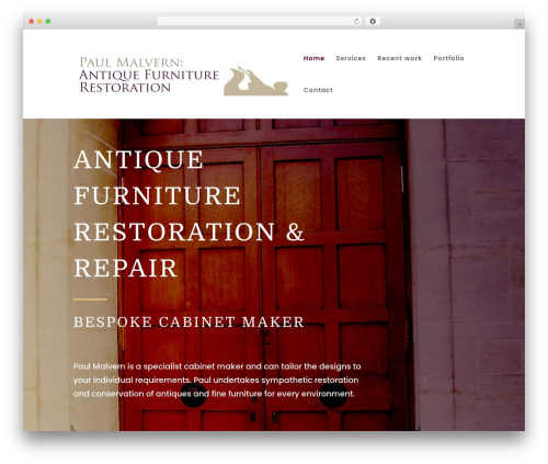 Divi WordPress theme - paulmalvern-restoration.co.uk
