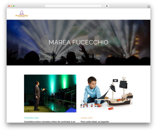 Pet Business template WordPress - mareafucecchio.it