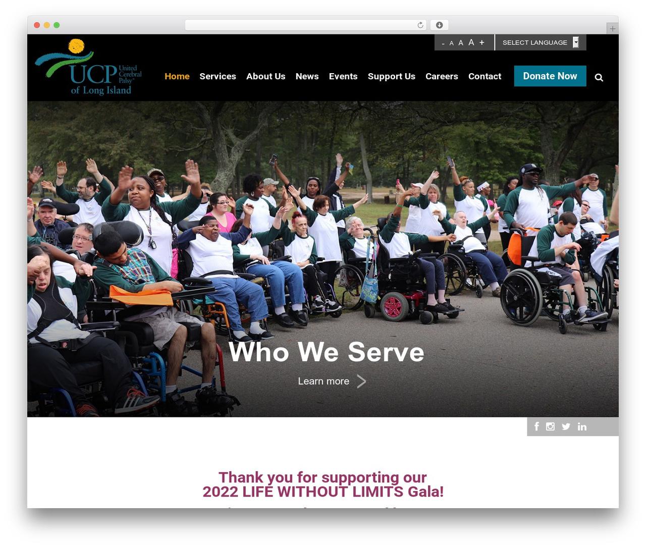 Twenty Sixteen best WordPress template - ucp-li.org