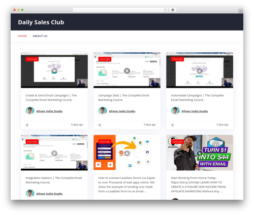 Addictive Site Builder WP template - dailysalesclub.com