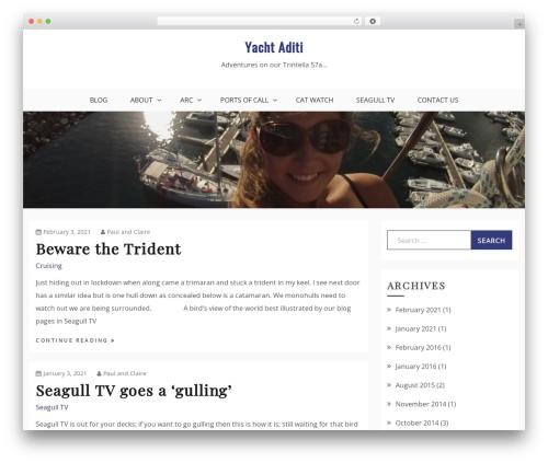 Drift Blog WordPress blog template - yachtaditi.com