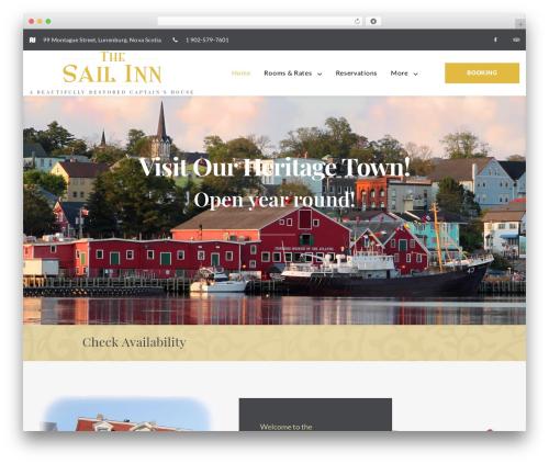 RoyBedAndBreakfast WordPress shop theme - sailinn.ca