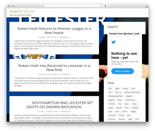 showme premium WordPress theme - roberthuth.com