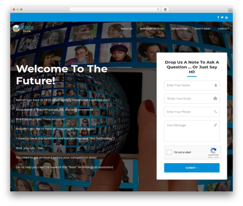 Offline Sharks Lead Gen Child Theme WordPress website template - ikirco.com