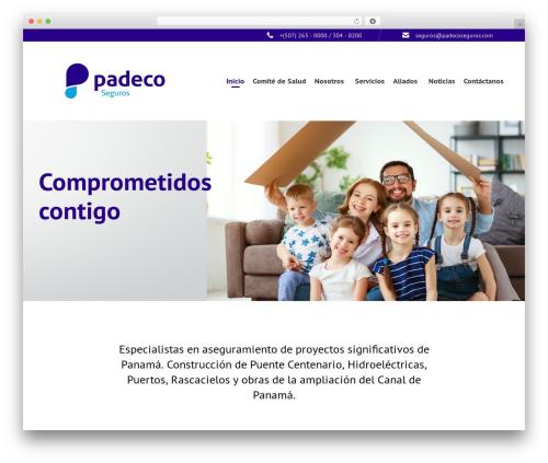 Theme WordPress Consulting Child - padecoseguros.com