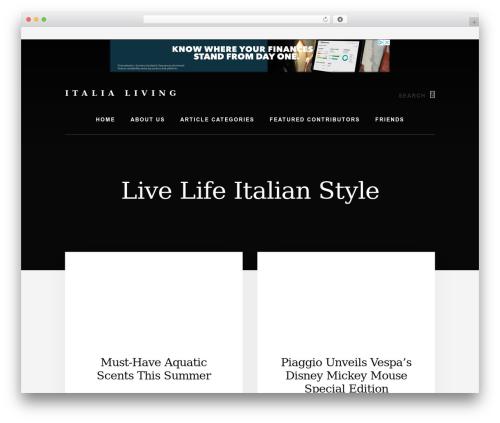 WordPress popup-press plugin - italialiving.com