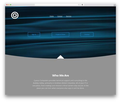 WP template Revolution - cyaxus.com